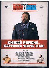POLIZIOTTO CHISSA PERCHE'  CAPITANO TUTTE A ME vol 14 BUD SPENCER DVD EDIT SIGIL