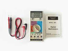 Rsr Electronics Multimetercapacitancetransistor Hfefrequency Excellent Shape