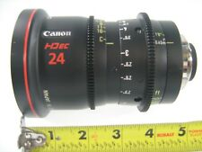 CANON LENS HD ec 24 FJ 24 CINEMA CINE PHOTO PHOTOGRAPH HIGH DEFINITION DIGITAL N
