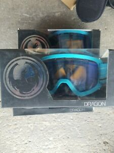 Dragon Alliance Snow Goggles LILD Narwale Yellow Blue Ion Size 4425 Style 28642
