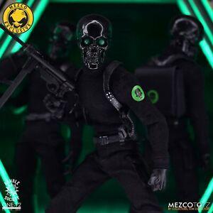Mezco Toyz One:12 Collective Black Skulls Death Brigade Figure