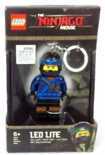 JAY LED LITE KEYCHAIN ninjago lego legos NEW minifigure BLUE ninja MOVIE minifig