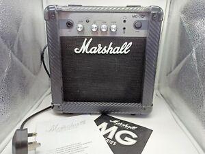 24 Watt Marshall MG10CF Electric Guitar Amplifier with Intructions