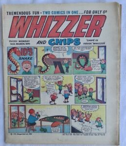 Whizzer and Chips Comic (1970) March 14th, Fair Copy