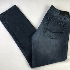 Bullhead Dillon Skinny Mens Stretch Jeans Sz 29 X 30 Distressed Dark Wash