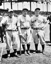 1934 All-Stars BABE RUTH, LOU GEHRIG & JIMMIE FOXX Vintage 8x10 Photo Baseball