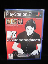 MTV Music Gnerator 3 para  playstation2 PAL nuevo y precintado.