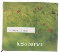 LUCIO BATTISTI LE CANZONI D'AMORE CD SIGILLATO!!!