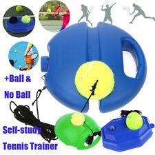 Tennis Ball Singles Training Practice Balls Back Base Trainer Board+Tennis Set