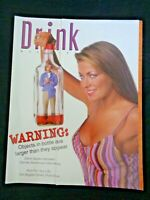 1998 Drink Alcohol Magazine David Spade Carmen Electra Norm Cheers Corona Beer