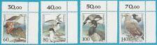 Bund aus 1991 ** postfrisch MiNr.1539-1542 Ecke oben rechts - Seevögel!