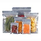 Translucent Mylar Aluminum Foil Pouch Food Self Seal Bags Reclosable