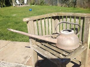 Vintage Haws Galvanised Long Reach Watering Can 6 pints Banjo type