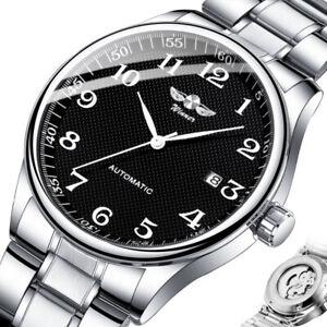 Mens Watch Luxury Automatic Mechanical Date Analogue Wrist Watches Vintage Watch