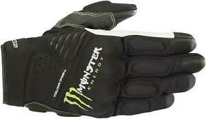 Alpinestars Monster Force Gloves - Motorcycle Street Riding Textile Touch Screen