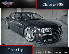 Chrysler 300c Front Bumper Lip Conversion Front Spoiler