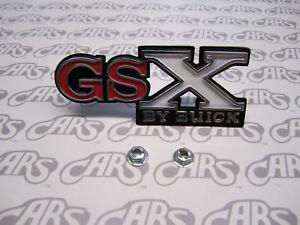 1971 Buick GSX Grill Emblem | By Buick | GS | GS 455 | Skylark