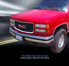94-98 GMC Yukon C/K Pickup Suburban Black Billet Grille Grill Insert Fedar