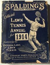1914 Spalding's Official Lawn Tennis Annual