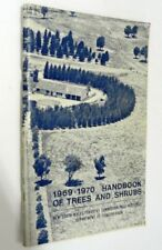 1969-1970 Handbook of Trees and Shrubs - NSW Forestry Commission, Softcover 1969