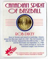 ROB DUCEY Blue Jays ~ Canadian Spirit of Baseball Coin ~ NEW in PACKAGE
