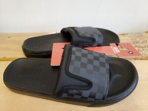 Vans Ultracush Slide Checkerboard Black Lifestyle Sandals for Men