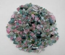 Tourmaline crystal rough natural gem mix loose parcel lot over 500 carats