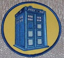 DOCTOR WHO British TV Series 4 inch Embroidered Tardis PATCH