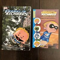 ✳️2 Franklin Richards Kids Comic Books Collections Graphic Trade Paperbacks TPB