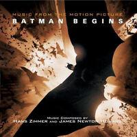 Batman Begins - Soundtrack Vinyl 2LP Hans Zimmer 2014 NEW/SEALED 180gm