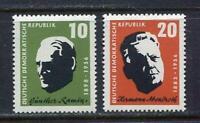 31274) DDR 1957 MNH Ramin, Abendroth 2v. Scott #375/76