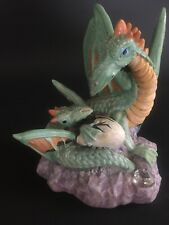 Spoontiques Resin Dragon With Baby