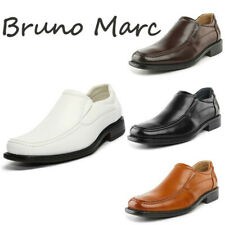 Bruno Marc Men's Classic Dress Loafer Shoes Square Toe Slip On Casual Loafers
