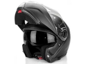 LS2 Flip up Helmet FF325 Valiant Strobe Black Matte Motorcycle Helmet From Hptt