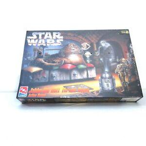 Star Wars Plastic Model Kit Jabba the Hutt Throne Room by AMT ERTL 1995 8262 NOS