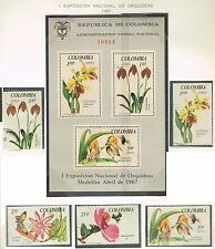 COLOMBIA, orchids Medellin 1967 flower flora insects fauna exposicion orquideas