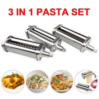 For KitchenAid Kpra Pasta Roller Cutter Maker 3-piece Stand Mixer attachment New