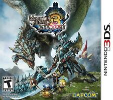 NINTENDO 3DS GAME MONSTER HUNTER 3 ULTIMATE BRAND NEW & FACTORY SEALED