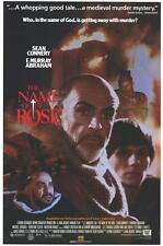 THE NAME OF THE ROSE Movie POSTER 27x40 B Sean Connery F. Murray Abraham