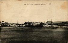 CPA  Ambronay - Station-Magasin  (382770)