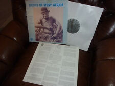 Drums of West Africa, Ritual Music Of Ghana, USA Lyrichord LLST 7307 LP, 12""