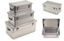 Aluminiumbox Alubox Alu Kiste Alukiste Kasten Transportkiste Aufbewahrung Truhe