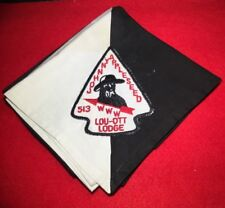 513 Lou-OTT Lodge Johnny Appleseed Council OU A2 Neckerchief 802491