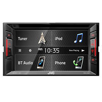 JVC KW-V140BT Double DIN Bluetooth In-Dash DVD/CD/AM/FM Car Stereo