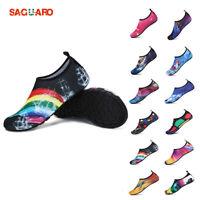 SAGUARO Mens Aqua Water Shoes Yogo Socks Diving Wetsuit Non-slip Swim Beach shoe