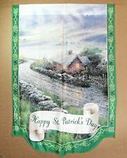 Thomas Kinkade 40� Flag St Patrick Limited w/o Coa Vg/New Cond.