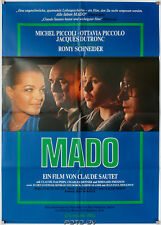 Original-Filmplakat Mado 1976 Romy Schneider Michel Piccoli