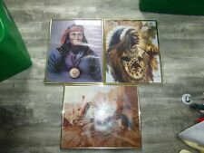 Decorative American Indian Pictures (lot of 3)