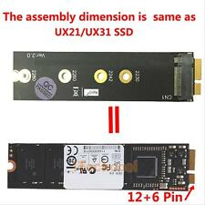 M.2 (NGFF) SSD to 18 Pin Key B SSD to Asus UX31 UX21 Adapter Card for Zenbook