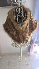 stolla di pelliccia ecologica
